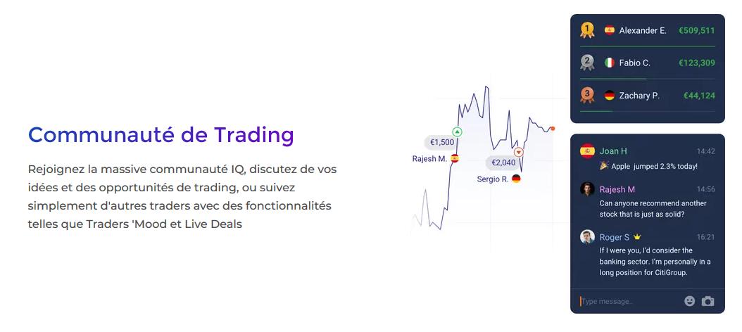 iqoption social trading